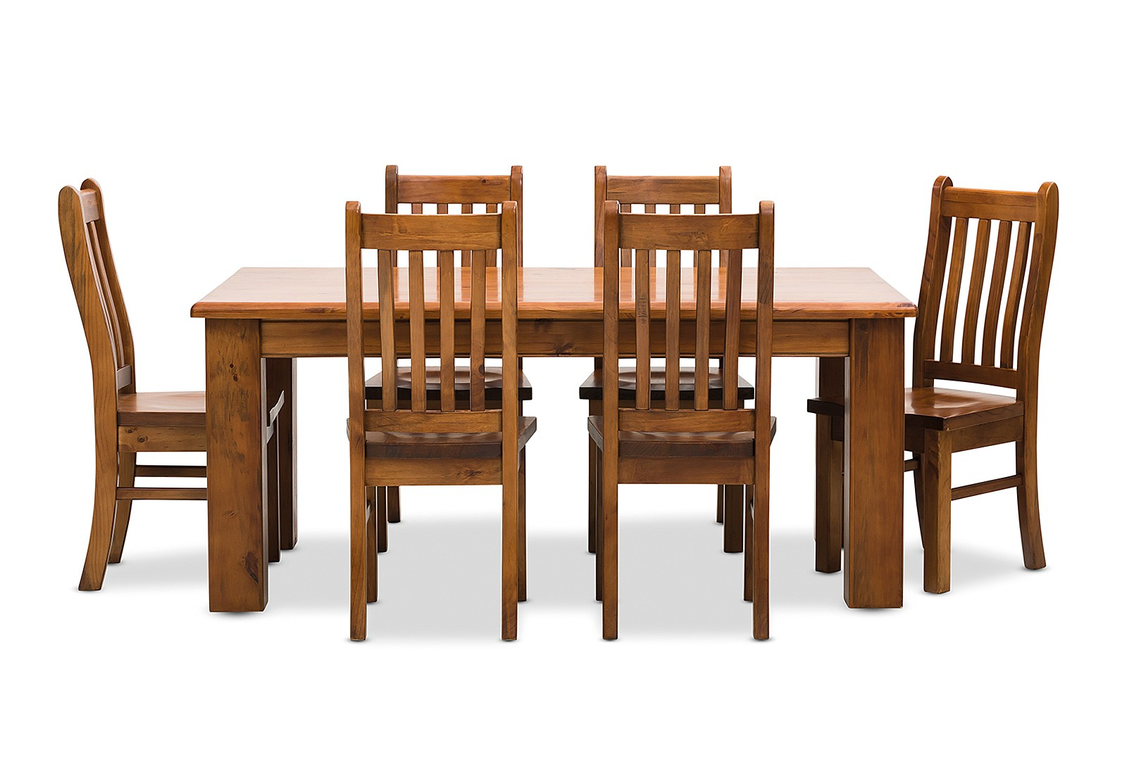 Settler 7 piece dining suite rentezi for Outdoor furniture early settler